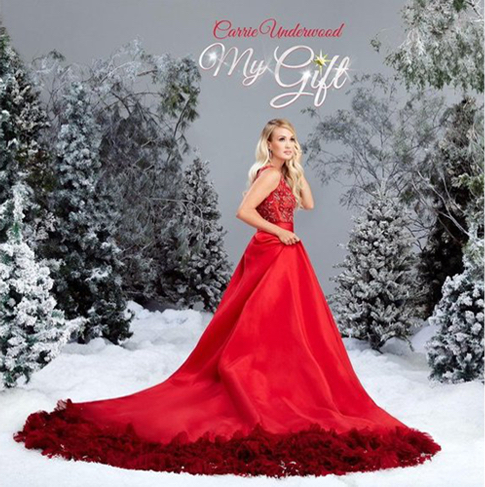Greg Wells produces the new Carrie Underwood album, My Gift